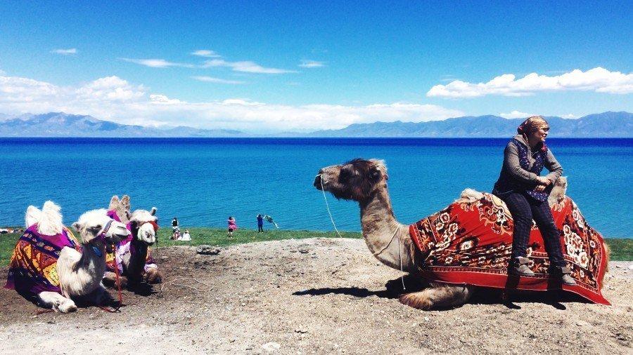 【新疆旅途故事】蹦出一片藍:賽里木湖