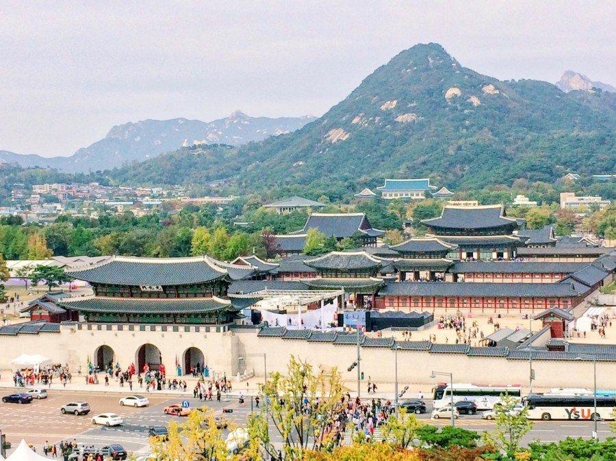 首爾IG景點 :韓國歷史博物館屋頂