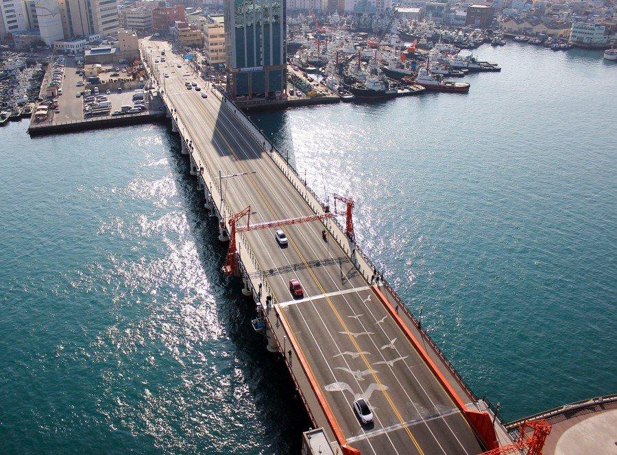 釜山IG景點 :影島大橋
