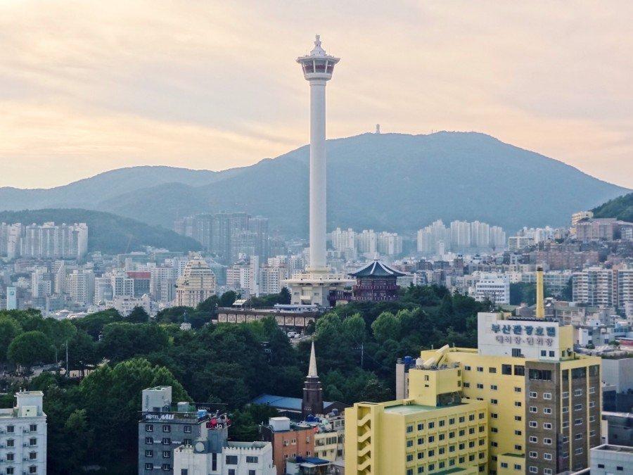 釜山IG景點 :樂天百貨展望台