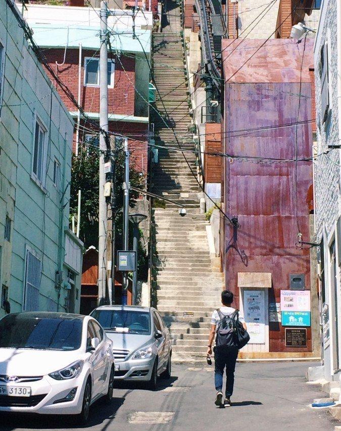 釜山IG景點:168階梯