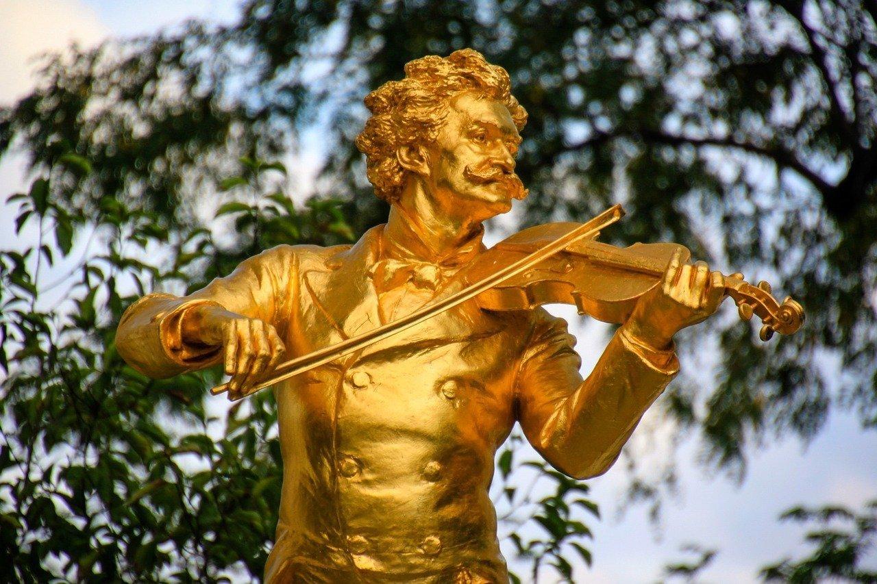 【維也納景點推薦】來去維也納城市公園聽音樂,音樂家雕像與他們的作品