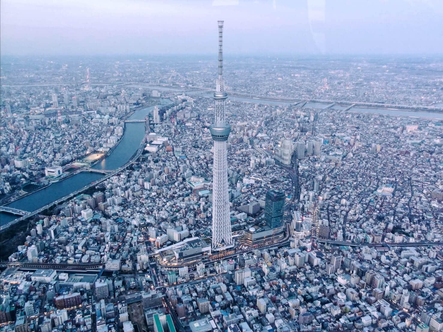 【東京景點推薦】東京直升機體驗,2000英尺高空的告別
