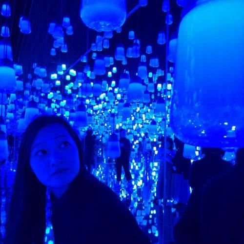 東京teamlab blue