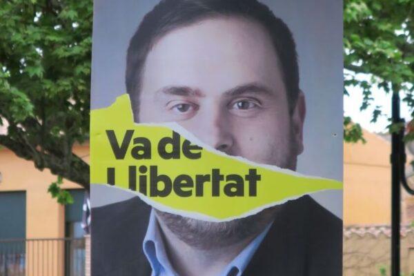 加泰隆尼亞釋放政治犯標語