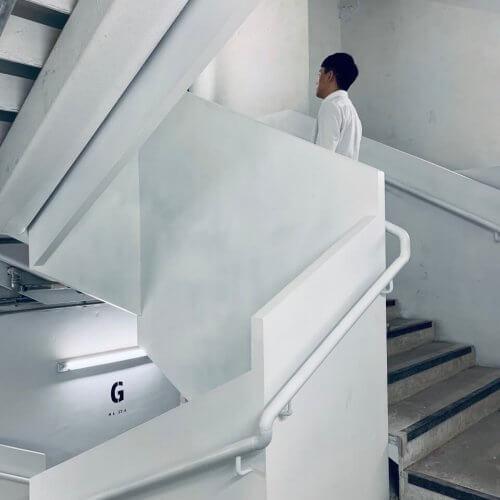 南豐紗廠逃生梯