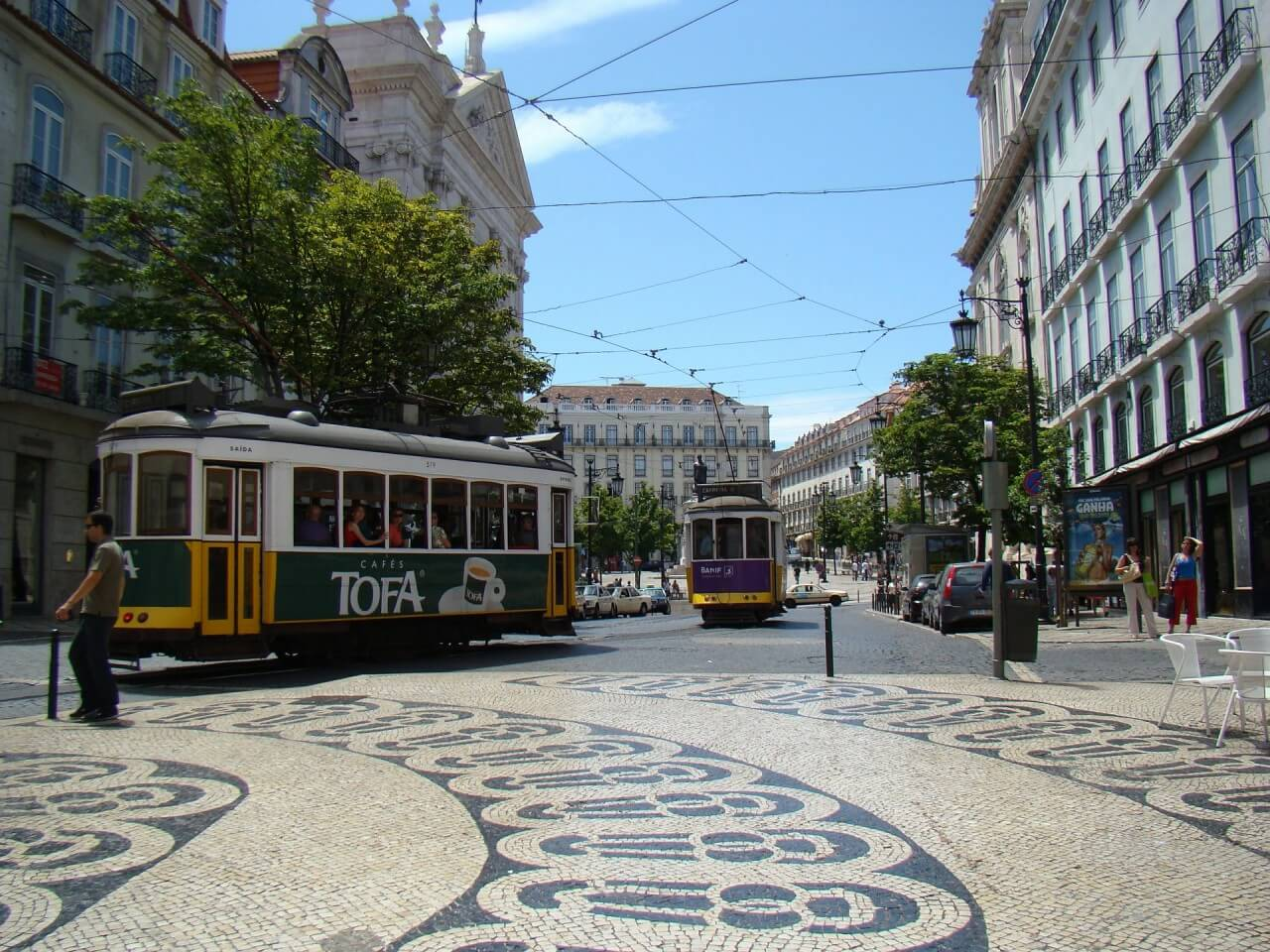 里斯本IG景點 Baixa-Chiado