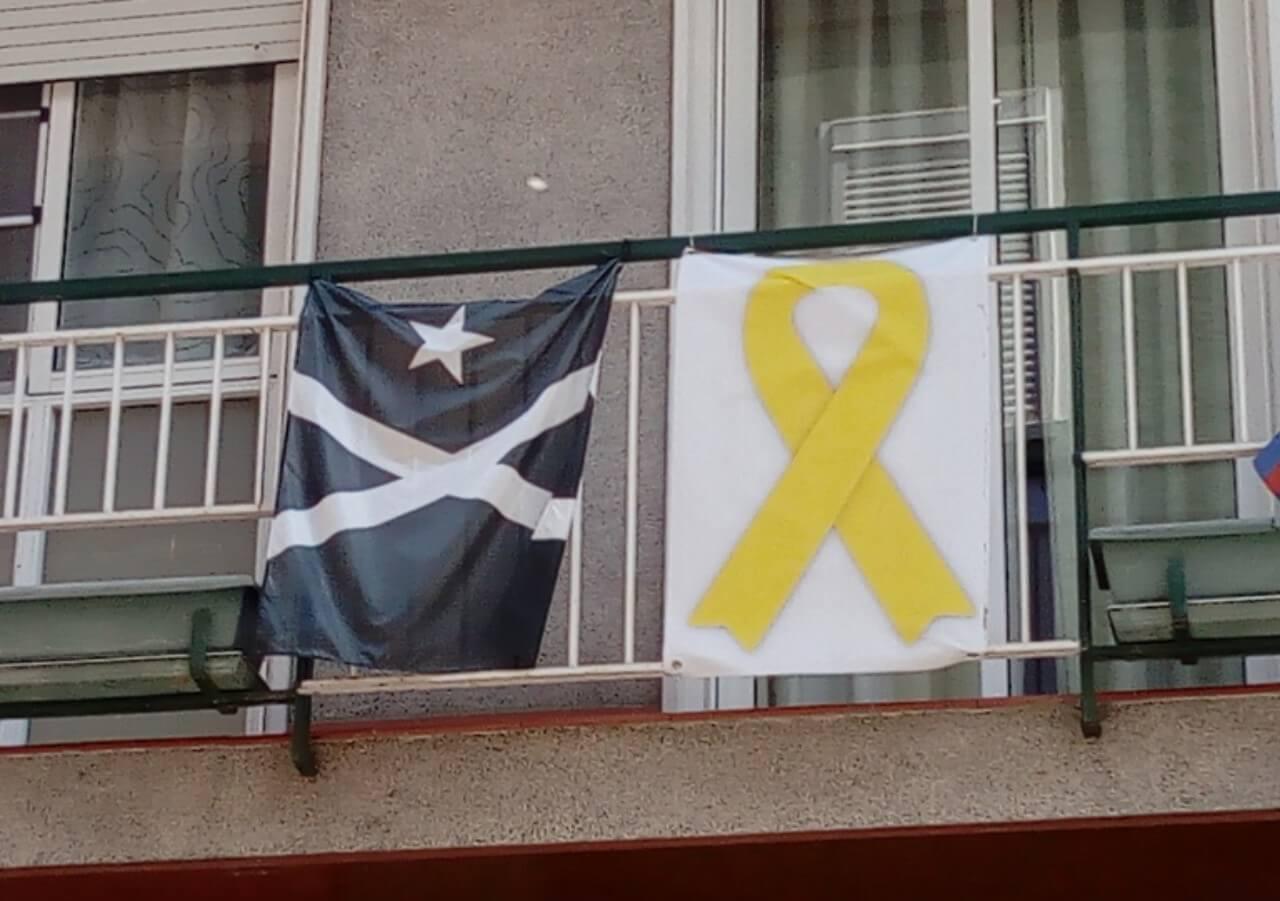 加泰隆尼亞獨立運動旗幟 Black Estelada