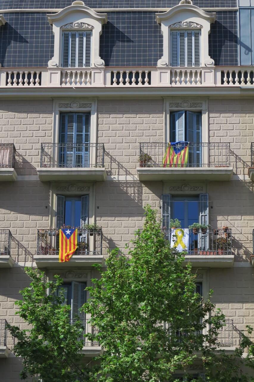 加泰隆尼亞獨立運動旗幟 Blue Estelada
