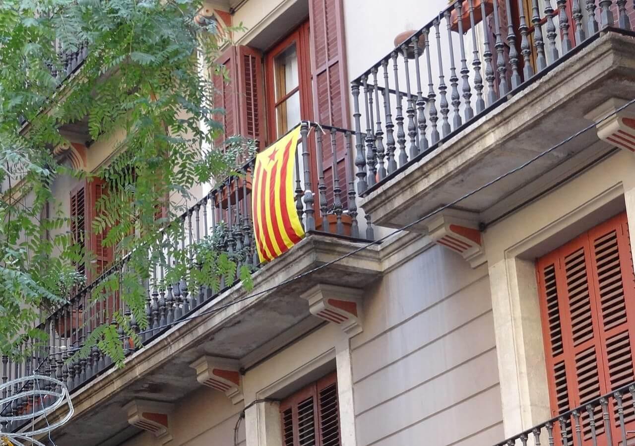 加泰隆尼亞獨立運動旗幟 Red Estelada