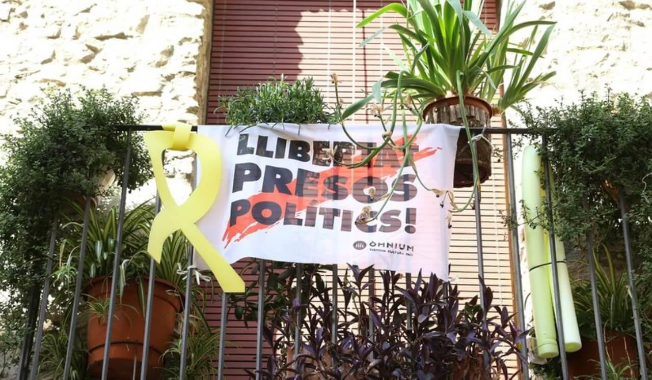 加泰隆尼亞獨立運動旗幟 llibertat