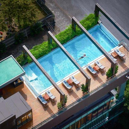 【曼谷住宿推薦】VIE Hotel Bangkok隱身在城市的五星享受,無邊際泳池別錯過 3