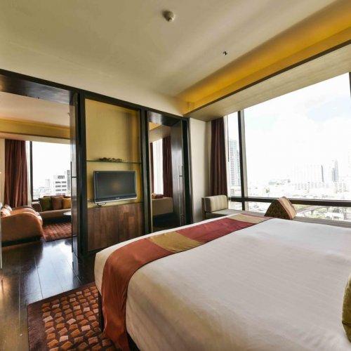 【曼谷住宿推薦】VIE Hotel Bangkok隱身在城市的五星享受,無邊際泳池別錯過 7