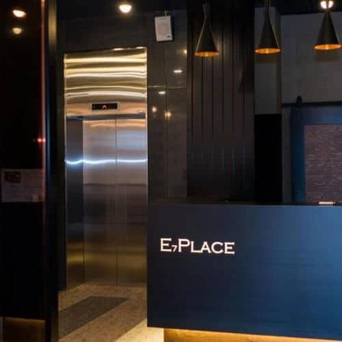 E7 Place Dongdaemun 前台