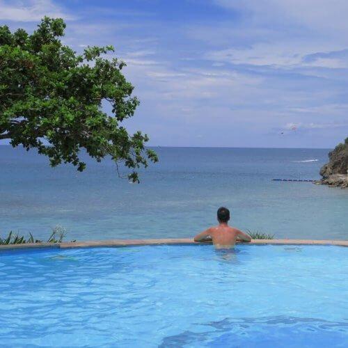 Fairways And Bluewater Boracay infinity pool