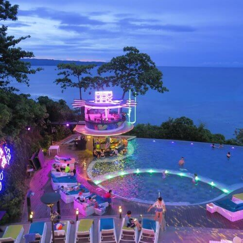 Fairways And Bluewater Boracay pool party
