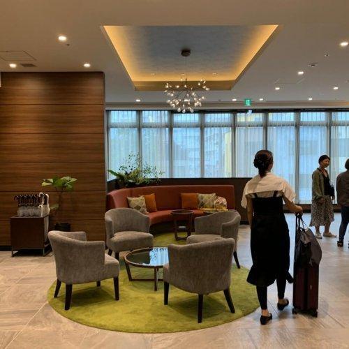 Almont Hotel Sendai 大廳