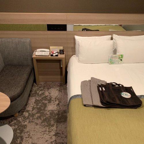 Almont Hotel Sendai 房間內部