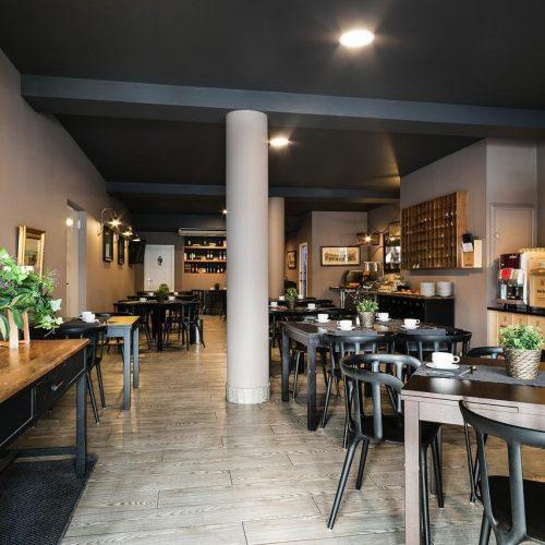 Hotel Acta Madfor 早餐