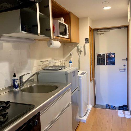 ESK京都公寓式飯店 廚房