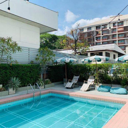 Josh Hotel 游泳池