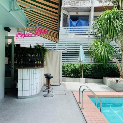 Josh Hotel pool bar