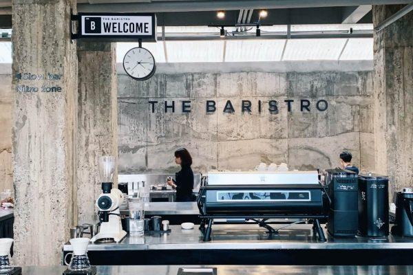 The Baristro at Train Station