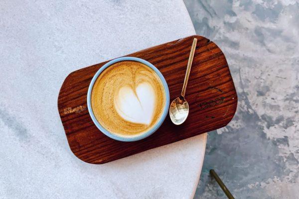 Troop Cafe hot latte