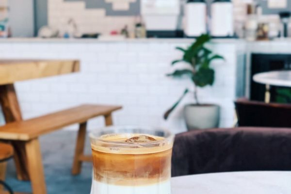 Troop Cafe ice latte
