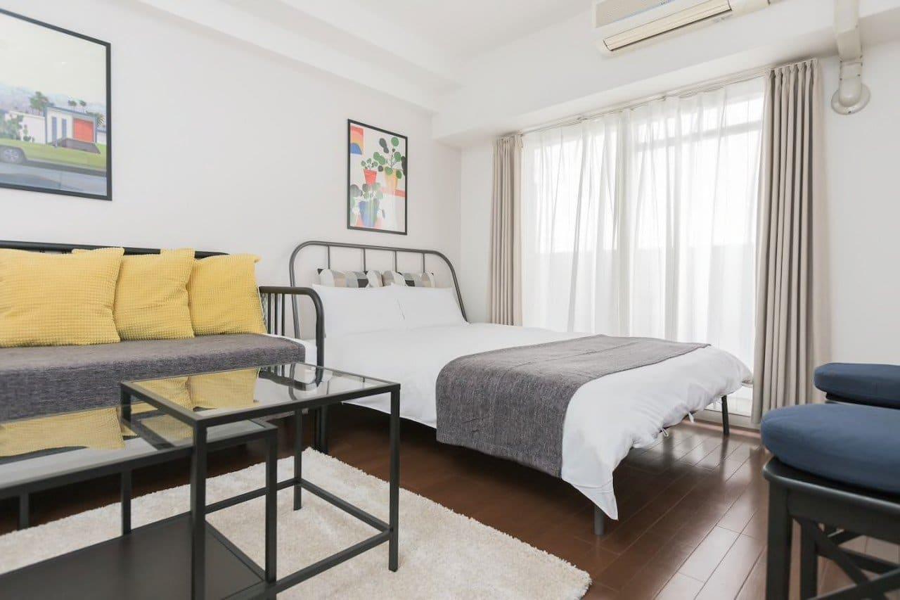 【大阪住宿推薦】難波AFP Luxury Apartment,適合家庭的平價大空間公寓