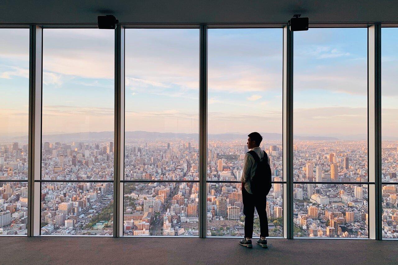 【大阪景點推薦】阿倍野HARUKAS 300展望台,感受大阪的魔幻時刻