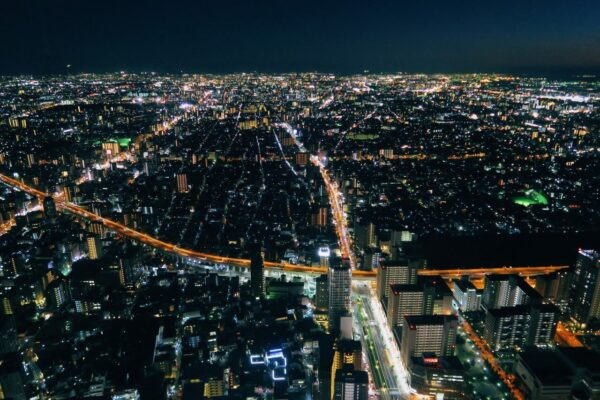 阿倍野HARUKAS 300展望台 夜景2