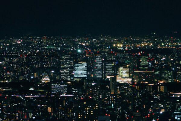 阿倍野HARUKAS 300展望台 夜景3