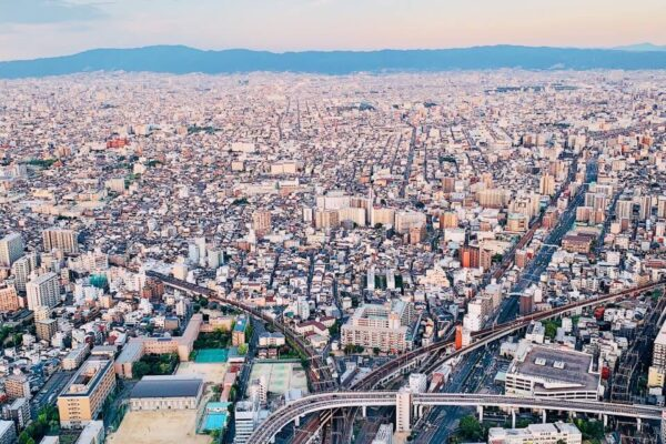 阿倍野HARUKAS 300展望台 日景1