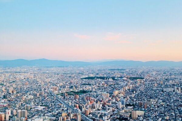 阿倍野HARUKAS 300展望台 日景2