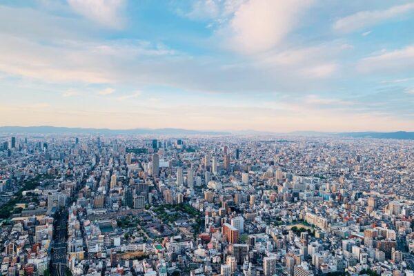 阿倍野HARUKAS 300展望台 日景3