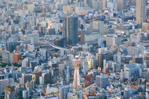 阿倍野HARUKAS 300展望台 黃昏景3